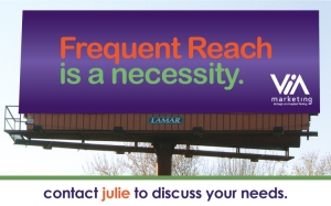 Frequent Reach billboard image