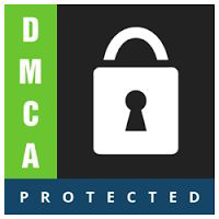 Protect content by placing DMCA badge